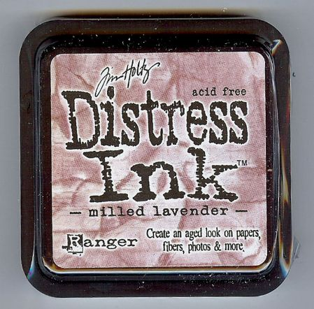 Tim Holtz Distress Ink Pad from Ranger - Milled Lavender